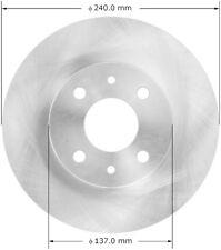 Disc Brake Rotor Rear Bendix PRT6121 fits 12-13 Fiat 500