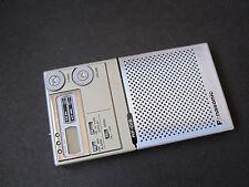 Panasonic RF 016 Mister Thin FM AM Portable Radio Receiver Silver