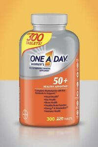 One A Day Women's 50+ Multivitamin 300 Tablets Always Fresh, NIB SHIP FROM STORE