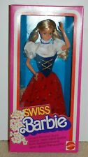 Swiss Barbie - Dolls of the World Collection 1983 Mattel #7541 - NRFB