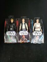 "3 Star Wars 6"" Action Figure Hasbro New  2016"