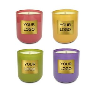 Private Label Candles 12 pcs, Your Luxury Brand, Wedding Favors