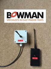 Bowman Clay Pigeon Trap Wireless Radio Single
