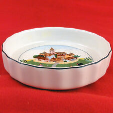 "NAIF DESIGN INDIVIDUAL QUICHE 4.75"" ROUND Villeroy & Boch NEW NEVER USED Germany"