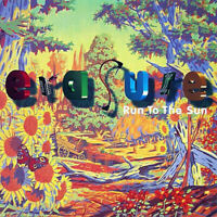 Erasure CD Maxi Run To The Sun 2 MIXES +Tenderest Moments MUTE 153 Synth-Pop