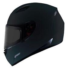 MT Mugello Full Face Motorbike Motorcycle Helmet ACU Pinlock Ready Matt Black