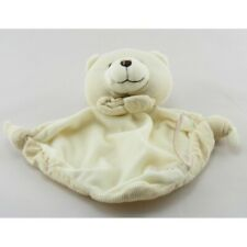 Doudou plat ours blanc TIAMO COLLECTION - Ours Plat / Semi plat