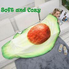 Casofu Avocado Throw Blanket - Soft & Comfy - Oversized - 53 x 67