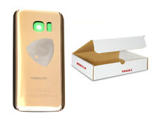 Gold back glass door cover Replacement Adhesive Tool Compatible Galaxy S7 G930