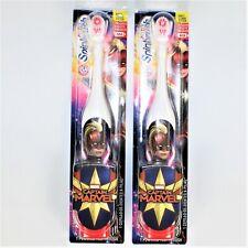Arm & Hammer Kid's Spinbrush Captain Marvel Powered Toothbrush, 2 Pack