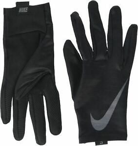 Nike Men's Base Layer Gloves with Touch Screen Fingers - Large