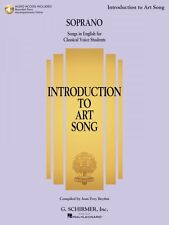 Introduction to Art Song for Soprano Songs in English for Classical Vo 050600557