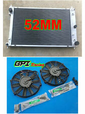 aluminum radiator for Ford AU Falcon/Futura/Fairmont/Fairlane/XR6/8 AT/MT + FAN