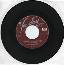 The Magnificents   Up On The Mountain   On  Vee Jay   Original  45