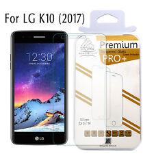 LG K10 (2017) 100% Genuine Gorilla Tech Tempered Glass Film Screen Protector