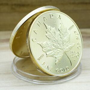 Birthday Souvenir Gifts Lucky Souvenir CA Coin Decorative Coin Gold Plated