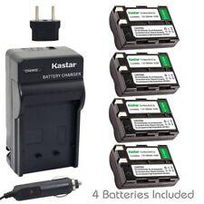 Kastar EN-EL3A Battery & Regular Charger for Nikon D50 D70 D70s D100