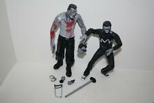 NECA Sin City Black White BLOODY MARV KEVIN Lot Figure Cult Classics