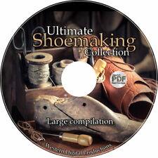 50 eBooks Shoe Foot Anatomy Heel Making Repair Shop Shoeology Leather Sole Kit