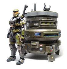 Halo Reach Generator Defense with Spartan JOF Action Figure Series 6 Collectable