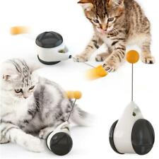Smart Pet Cat Toy with Wheels Automatic No need recharge cat toy interactive New