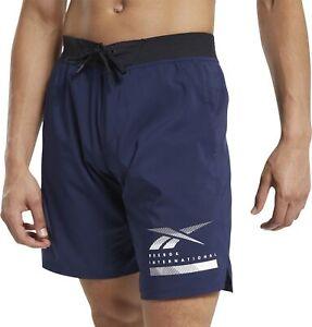 Reebok Epic Lightweight Mens Training Shorts - Navy