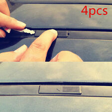 4pcs Replacement Roof Rail Rack Moulding Clip Cover For Mazda 2 3 6 CX5 CX7 CX9