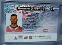 2018-19 Upper Deck Parkhurst Parkhurst Permits #PA-14 Tomas Tatar Montreal