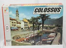 Vtg Colossus Jigsaw Puzzle Milton Bradley 4384 Anscona Switzerland 2500 Piece 73