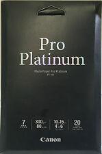 Canon Photo Paper New Pro Platinum PT-101 photo paper 20 sheets 300g/m2 ink jet