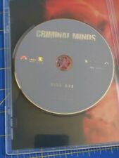 Criminal Minds: Season 3 DVD Disc 1 Only! No Case! Replacement