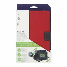 """Targus """"SafeFit"""" Rotating Universal Case for 7 - 8-Inch Tablet - Red"""