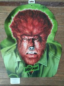 """NEW!! Universal Monsters """"The Wolf Man"""" Decoration"""