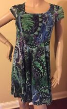 Karen Kane Dress  Beautiful Spring Dress Scoop Neck Size Small Dress Size 4-6
