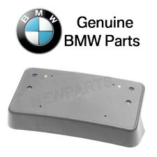 For BMW E82 E88 128i 3.0 L L6 Front License Plate Base Genuine 51-11-7-191-190
