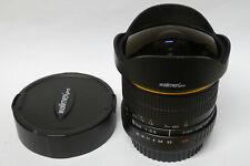Walimex  PRO 3,5 / 8 mm Fisheye  Objektiv für Canon EOS gebraucht