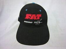 trucker hat baseball cap FAT BOEING MD retro slide adjuster cool cloth vintage