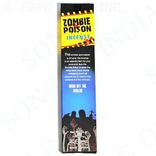 NEW! ZOMBIE POISON Incense 15g *Free Shipping* Wicca Novelty ZOMBIES Gothic