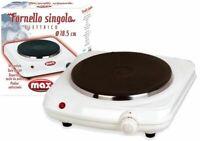** Fornello singolo ** fornello elettrico 18,5 cm 1500 W by Max Italia