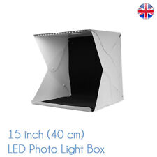 Medio pieghevole 40CM PHOTO Studio kit MK 40 Mini Box Luce Cubo Tenda UK STOCK