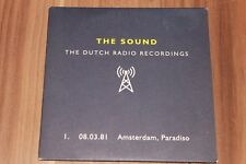 The Sound - The Dutch Radio Recordings 1. (2006) (CD) (Renascent – RENCD13)