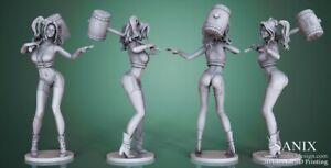3D Printed - Resin - Harley Quinn - DC - Malix3Design - Scale1/16