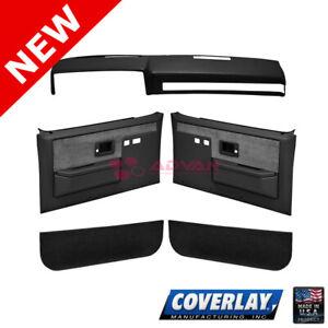 Black Interior Accs. Kit 18-601CF-BLK For Blazer K5 Front Left Right -Coverlay
