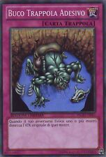 Yu-Gi-Oh! WGRT-IT083 Buco Trappola Adesivo Super Rara Ed Limit Italiano
