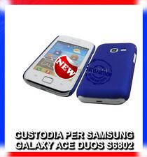 Pellicola + custodia back cover BLU per Samsung Galaxy Ace Duos S6802