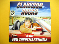 CLARKSON ROCKS - FULL THROTTLE ANTHEMS, CD, A THE SUN NEWSPAPER PROMOTION (1 CD)