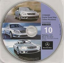 2003 2004 Mercedes Benz SL600 SL500 SL55 Navigation CD #10 Canada Map 07 Update