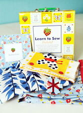 LEARN TO SEW QUILT KIT - POCKETS ! Tote Bag + Apron + Sewing Box