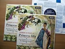 PRINCESS IDA. MALCOLM SARGENT 2  x LP SET N/B OPERA N/M