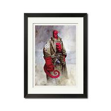 Hellboy Seed of Destruction Urban Art Poster Print